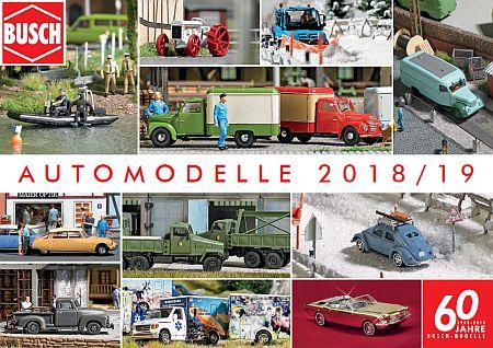 Automodelle - Neuheiten 2018