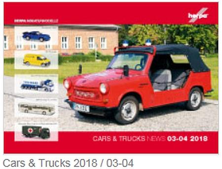 Cars & Trucks 03-04 2018