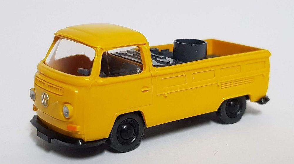 Wiking: VW T2 Pritschenwagen, maisgelb