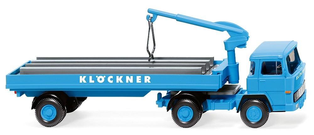 """Wiking: Magirus 135 D 11 FS Baustoffwagen """"Klöckner"""""""