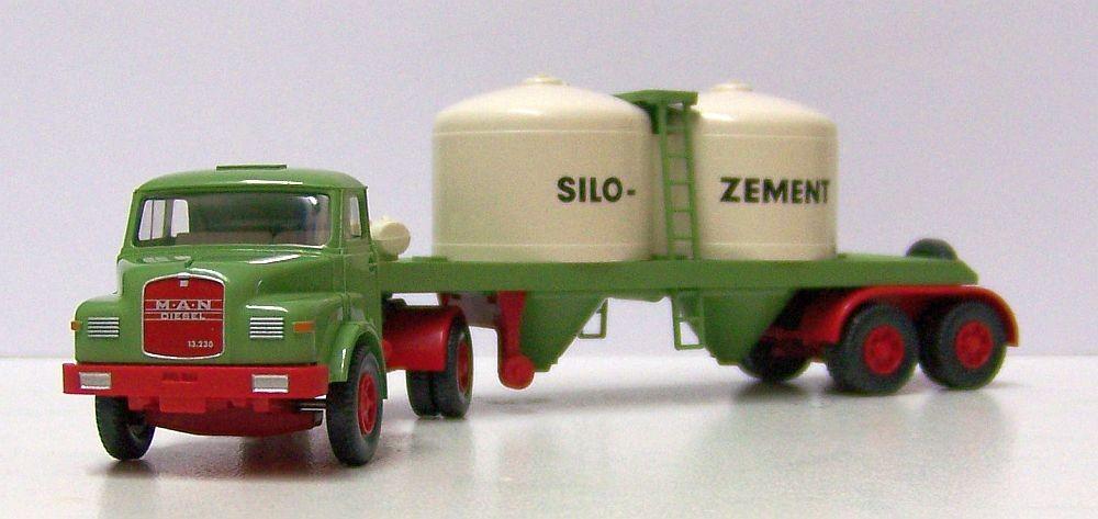 "Wiking: MAN 13.230 Hauber Silo-SZ ""Silo-Zement"""