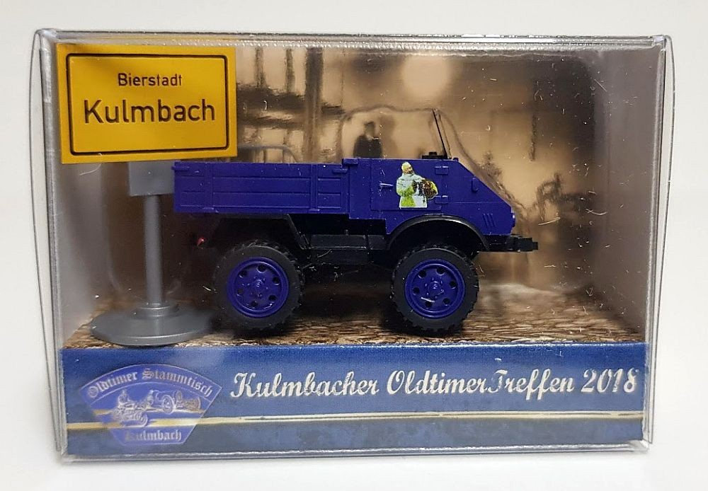 """Wiking: Unimog U 411 """"Kulmbacher Mönchshof"""""""