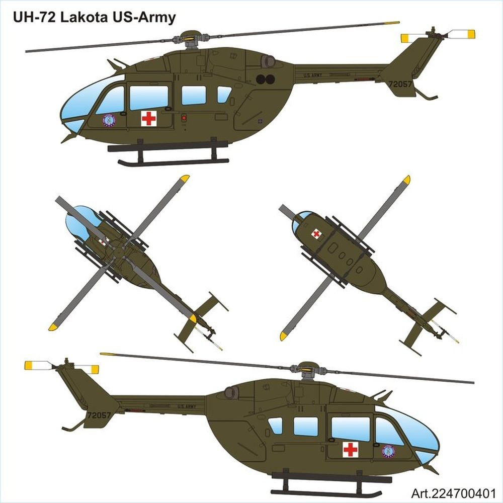 Airpower87: Eurocopter UH-72 Lakota US Army