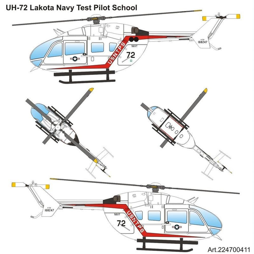 Airpower87: Eurocopter UH-72 Lakota US Navy Test Pilot School