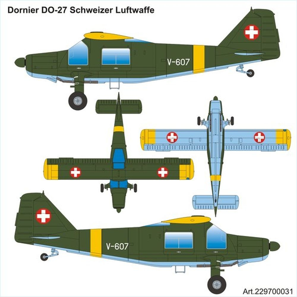 "Airpower87: Dornier Do 27 ""Schweizer Luftwaffe"""