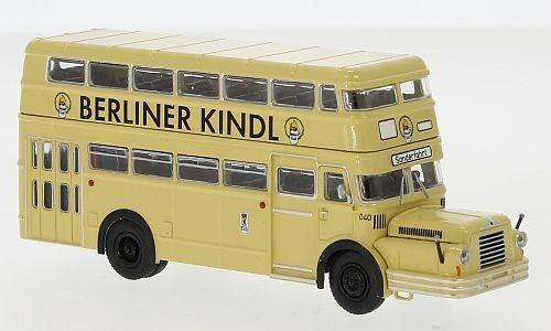 "Brekina: IFA Do 56 Bus ""BVG - Berliner Kindl"", 1960"
