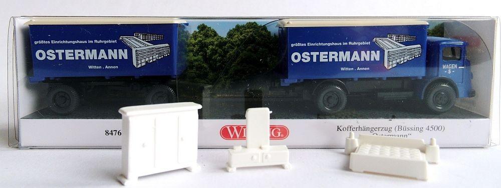 "Wiking: Büssing 4500 Koffer-HZ ""Ostermann"""