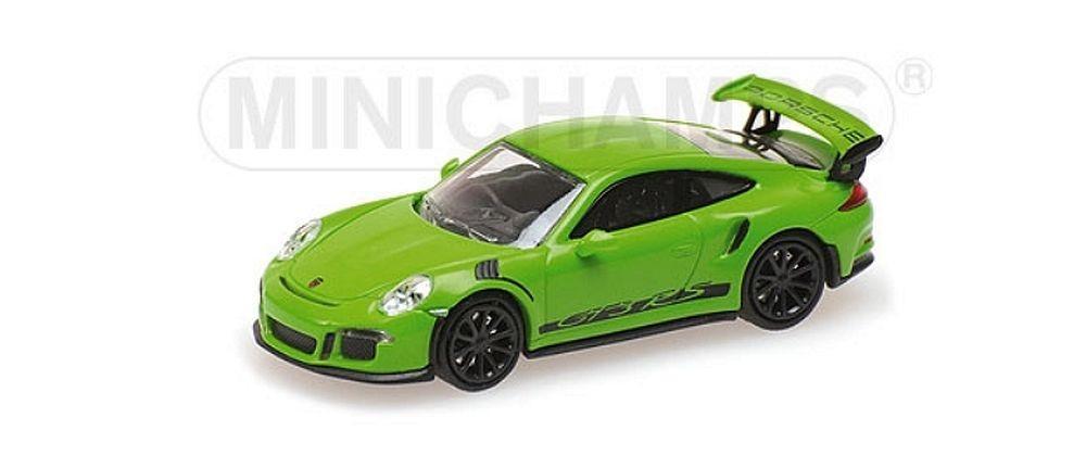 Minichamps 1/87: Porsche 911 GT3 RS (2015), grün