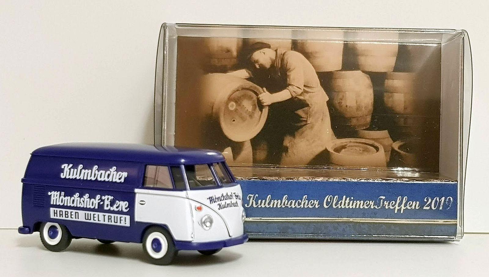 """Wiking: VW T1 Kasten """"Kulmbacher Mönchshof"""""""