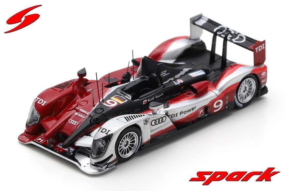 Spark 1/87: Audi R15 TDI Plus No.9 - Winner Le Mans 2010