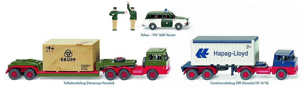 """Wiking: Modell-Set """"Made in Germany"""""""