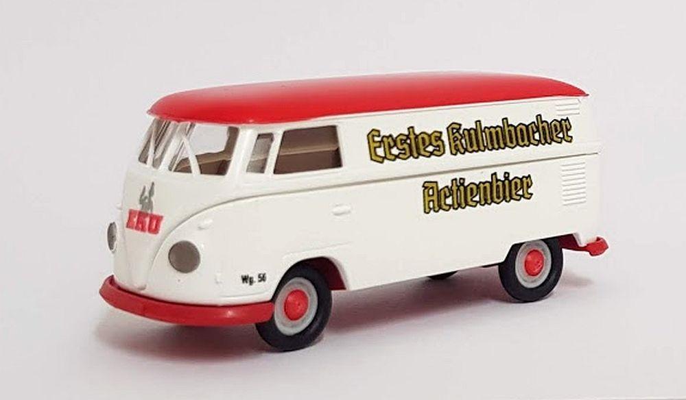 "Brekina: VW T1b Kasten ""EKU - Erstes Kulmbacher Actienbier"""