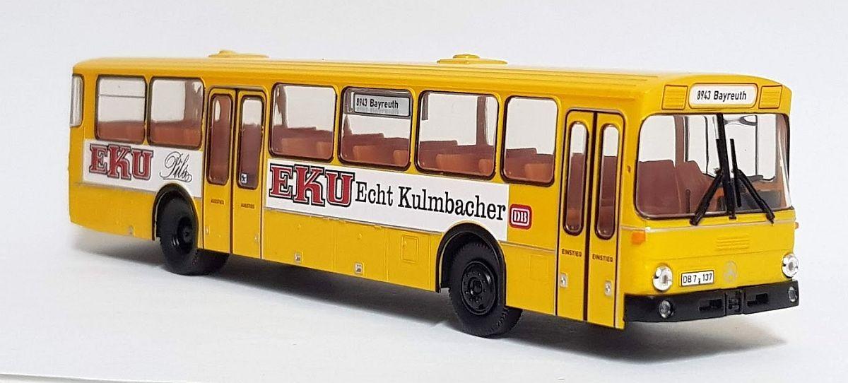 """Brekina Sondermodell: MB O 307 Bahnbus """"EKU Pils"""""""