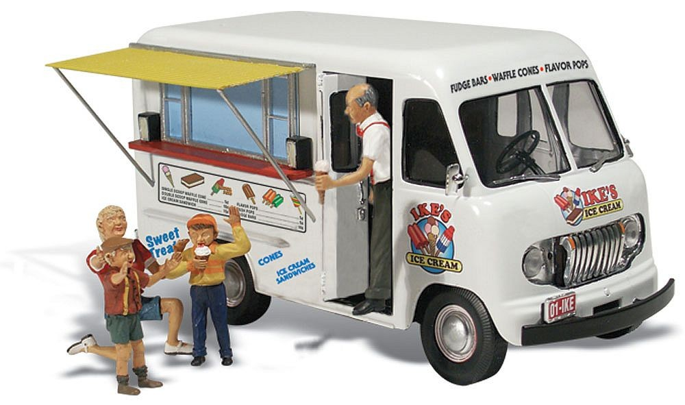 Woodland 1/87: Ike's Ice Cream Truck