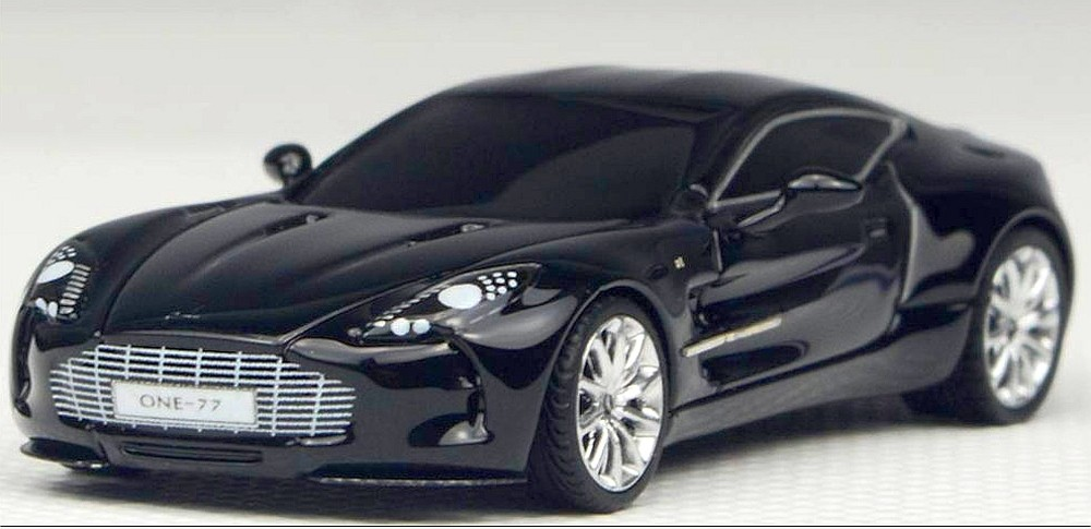 Fronti Art 1/87: Aston Martin One:77, schwarz