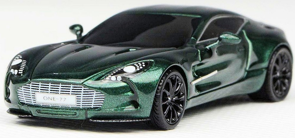 Fronti Art 1/87: Aston Martin One:77, British Racing Green