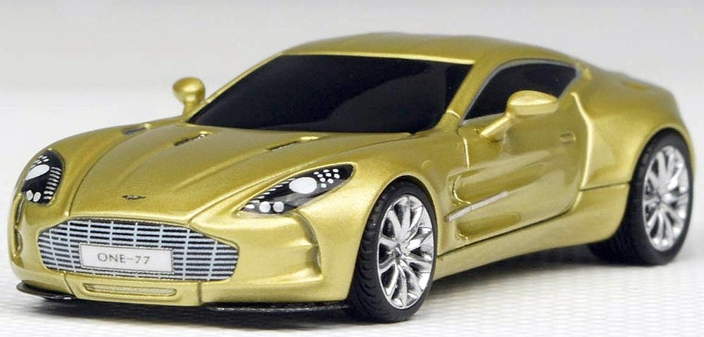 Fronti Art 1/87: Aston Martin One:77, Champagne Gold