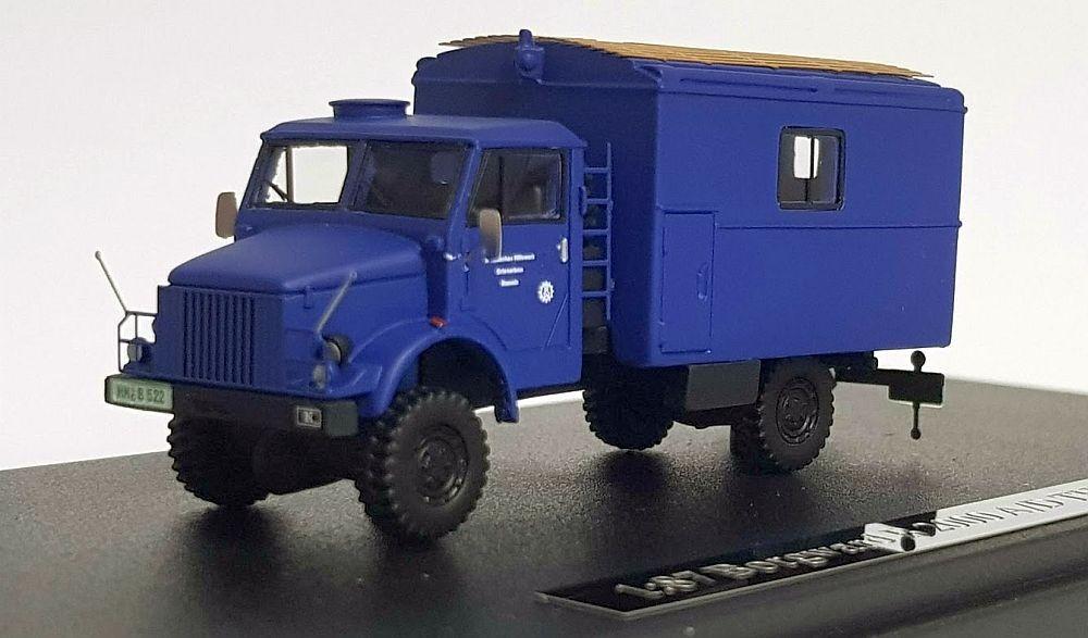 """NPE (H0): Borgward B 2000 A/D """"THW"""" Koffer"""