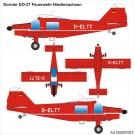 """Airpower87: Dornier Do 27 """"Feuerwehr Niedersachsen"""""""