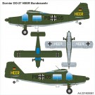 Airpower87: Dornier Do 27 HEER Bundeswehr