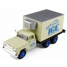 "Mini Metals: 1960 Ford F-600 Kühlkoffer-Lkw ""City Ice Co."""