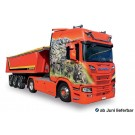 "Herpa: Scania CR HD Kipp-Sattelzug ""Mayolani"" (CH)"