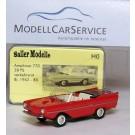 Saller: Amphicar 770, 38 PS, verkehrsrot, Bj. 1962-85